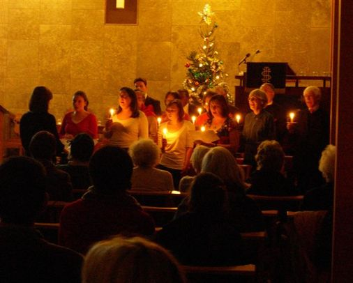 Carols by Candlelight Service, Sunday evening 19th December