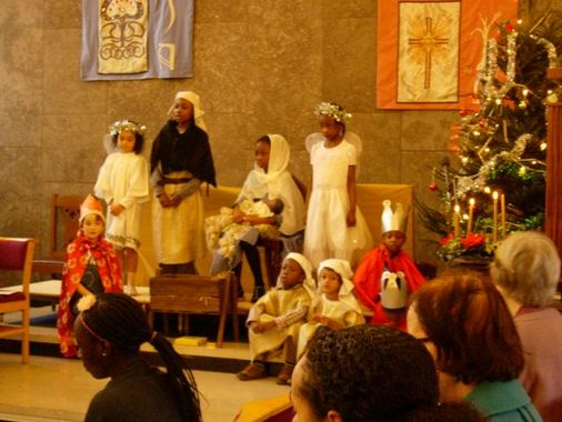 Nativity tableau