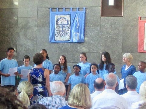 The Youth Choir with Sue and Linda