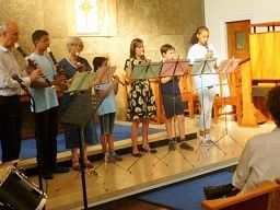 Our senior recorder group