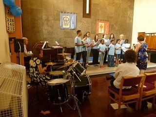 Youth Choir with piano and drums