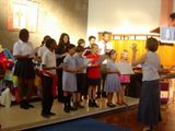 The Youth Choir at the Talent Show