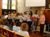 The Recorder Group at the Summer Concert