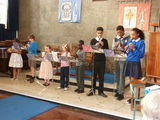 The Recorder Group opening the show