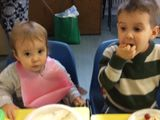 The Hilltots toddler group had a party